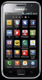 Cyanogenmod ROM Samsung Galaxy S (galaxysmtd) GT-I9000 M/T