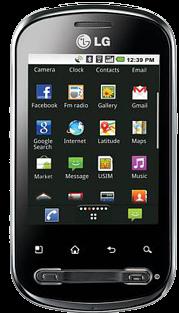 "LG Optimus Me (""p350"") Cyanogenmod"