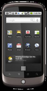Cyanogenmod ROM HTC Google Nexus One (Passion)
