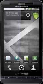 Cyanogenmod ROM Motorola Droid X (shadow)