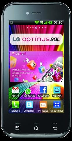 "LG Optimus Sol (""e730"") Cyanogenmod"