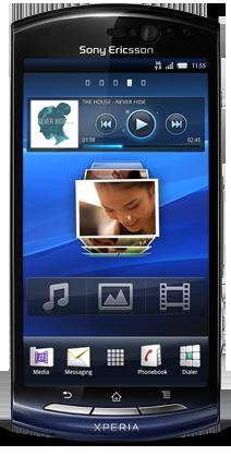 "Sony Ericsson Xperia Neo (""hallon"") Cyanogenmod"