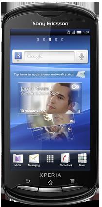 """Sony Ericsson Xperia Pro (""""iyokan"""") Cyanogenmod"""