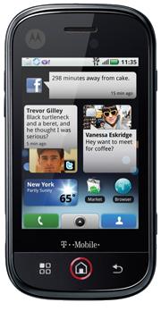 """Motorola Cliq (""""morrison"""") Cyanogenmod"""