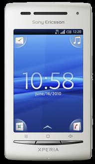 """Sony Ericsson Xperia X8 (""""shakira"""") Cyanogenmod"""
