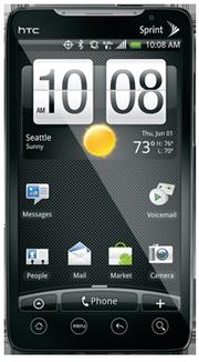 "HTC Evo 4G (""supersonic"") Cyanogenmod"